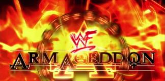 Logo for WWF Armageddon 2000