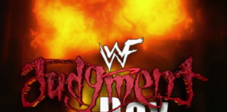 Logo for WWF Judgment Day 2000