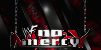 Logo for WWF No Mercy 1999