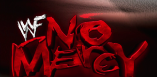 Logo for WWF No Mercy 2001