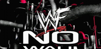 Logo for WWF No Way Out 2000