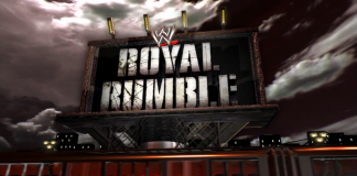 Logo for WWE Royal Rumble 2008