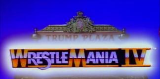 Logo for WWF WrestleMania IV