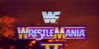 Logo for WWF WrestleMania V