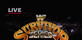 Logo for WWF Survivor Series 1992