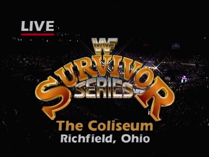 Logo for WWF Survivor Series 1992