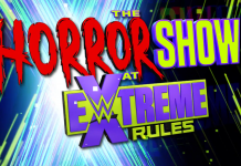 Logo for WWE The Horror Show At Extreme Rules 2020