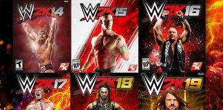 WWE Videogames