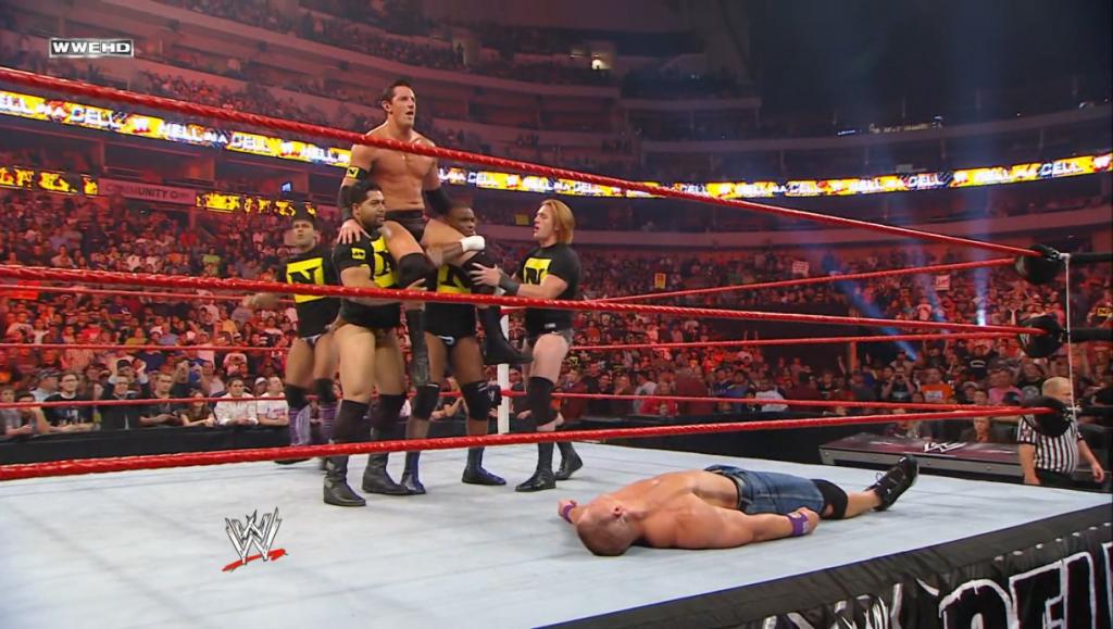 John Cena vs. Wade Barrett HIAC 2010