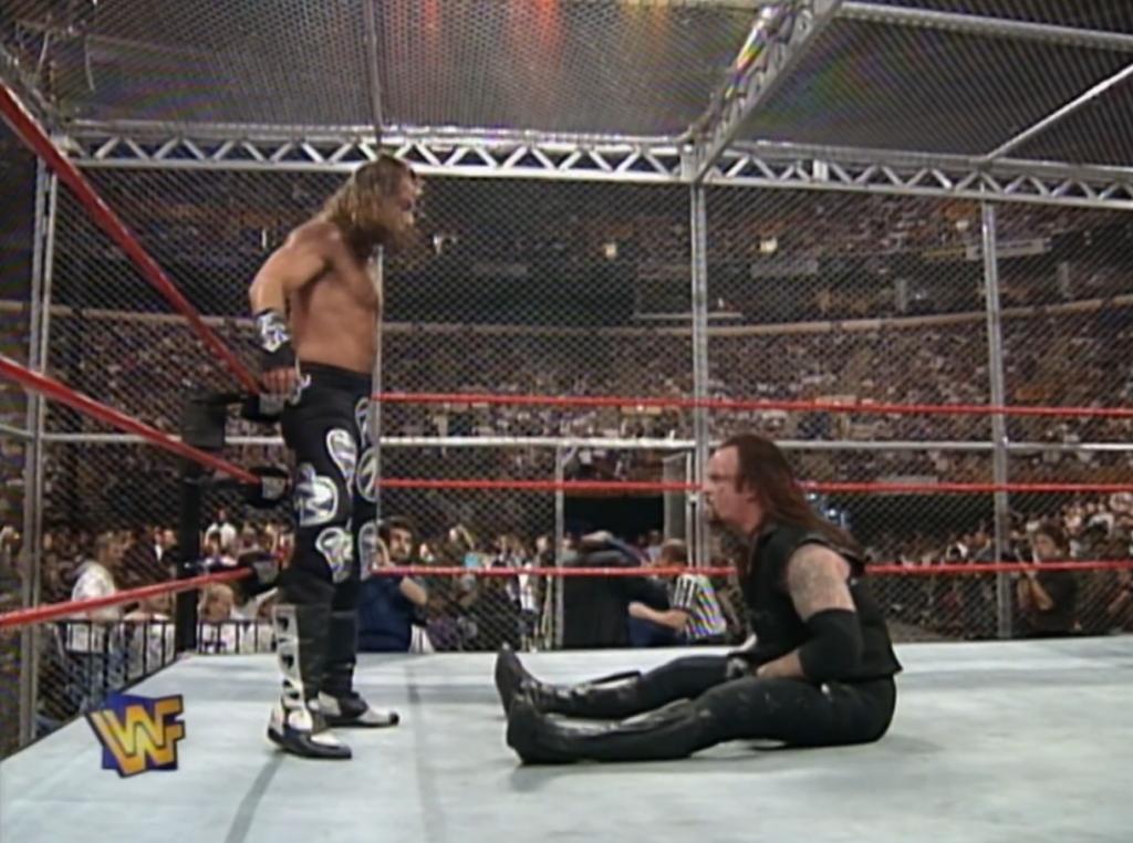 Shawn Michaels vs. The Undertaker IYH 18