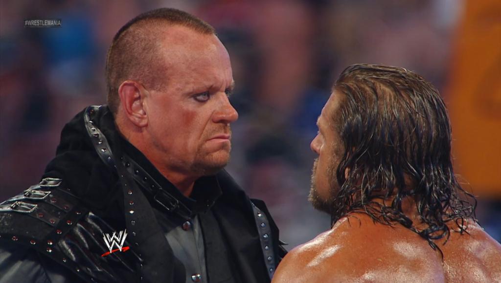 The Undertaker vs. Triple H WM 28