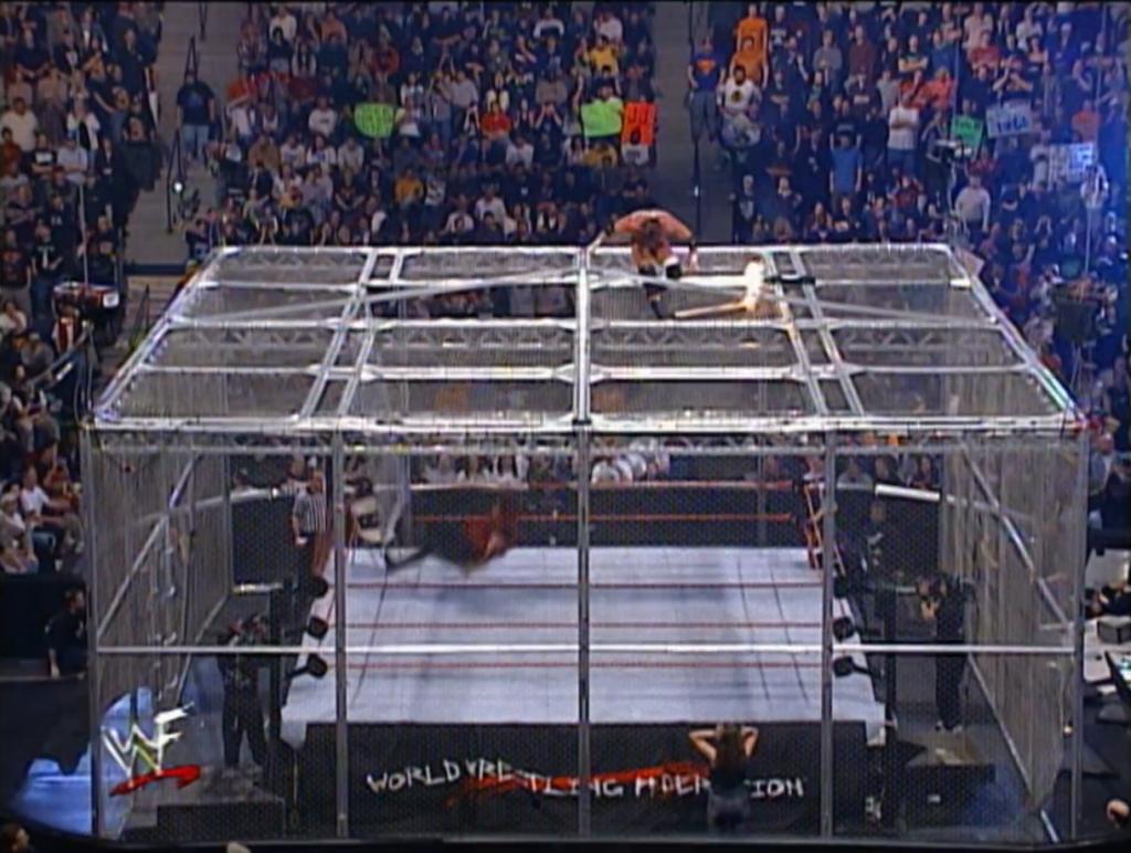 Triple H vs. Cactus Jack NWO 2000